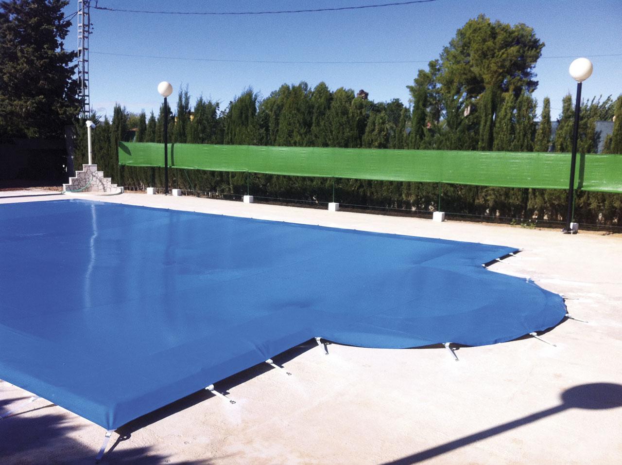 Toldo piscina - cobertores de invierno