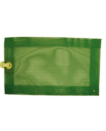 Cobertor de malla de poliéster verde