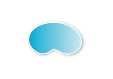 Forma de piscina - riñón