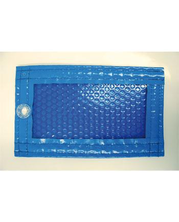 Cobertor solar 400 micras opaco azul semi transparente