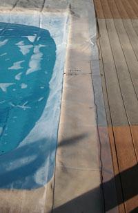 Medir cobertores con plantilla