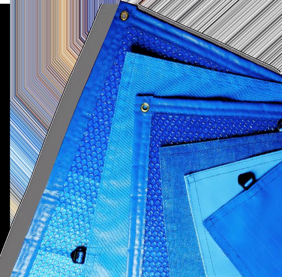Gama de cobertores de lona - Cubiertas de piscina - Toldo piscina